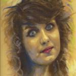 portret dzikie oko