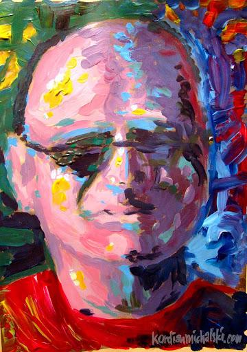 portret jacek zedzian
